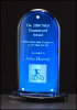 Arch Blue Mirror Acrylic Award