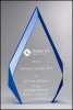 Clear Flame Acrylic Award